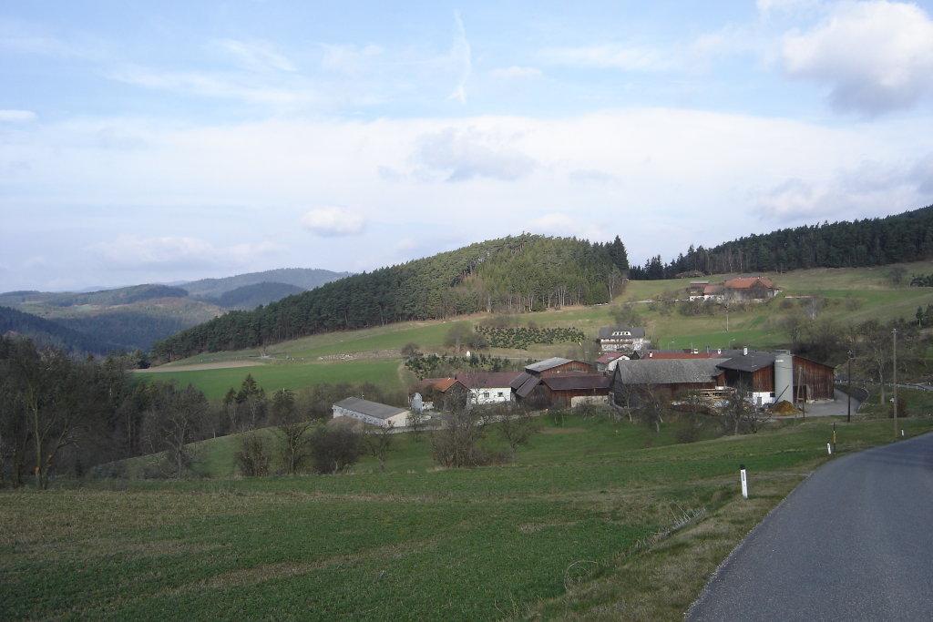 Blick nach Weiterndorf - Weiterndorf, Niederösterreich (3653-NOE)