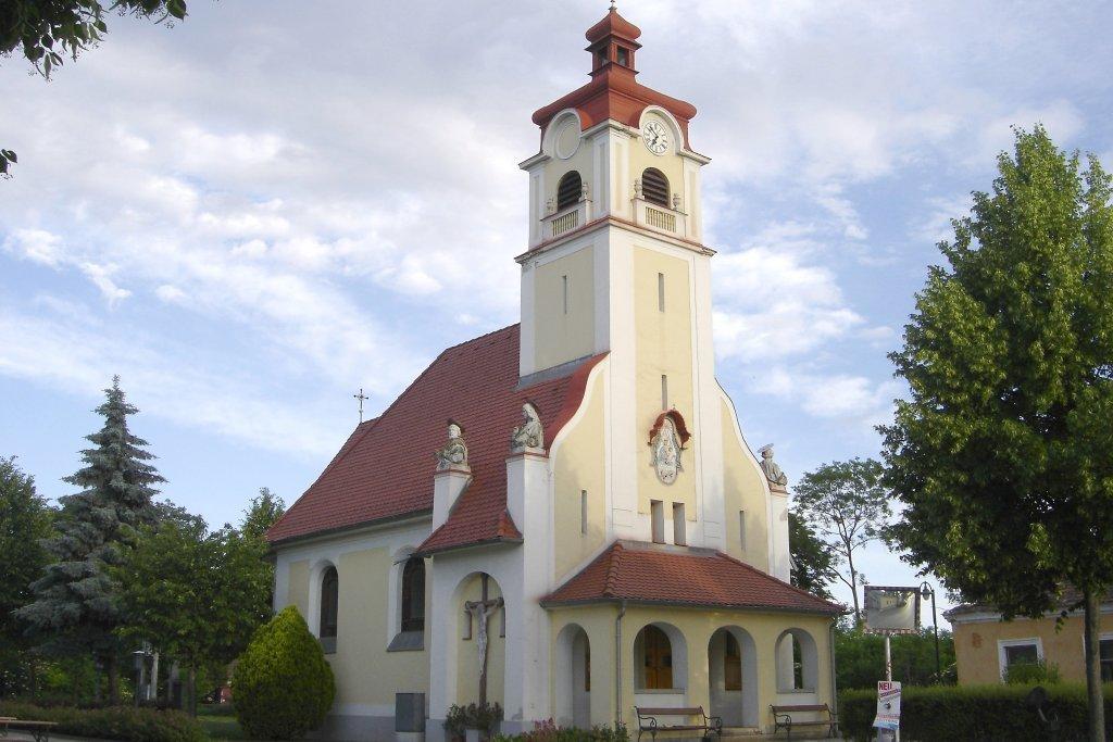 Kirche in Schmida - Schmida, Niederösterreich (3464-NOE)