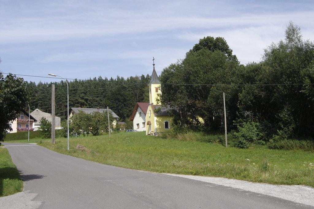 Blick zur Kapelle von Freitzenschlag - Freitzenschlag, Niederösterreich (3920-NOE)