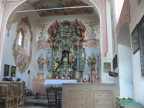 Der Altar in der Kapelle - Maria Elend, Kärnten (9182-KTN)