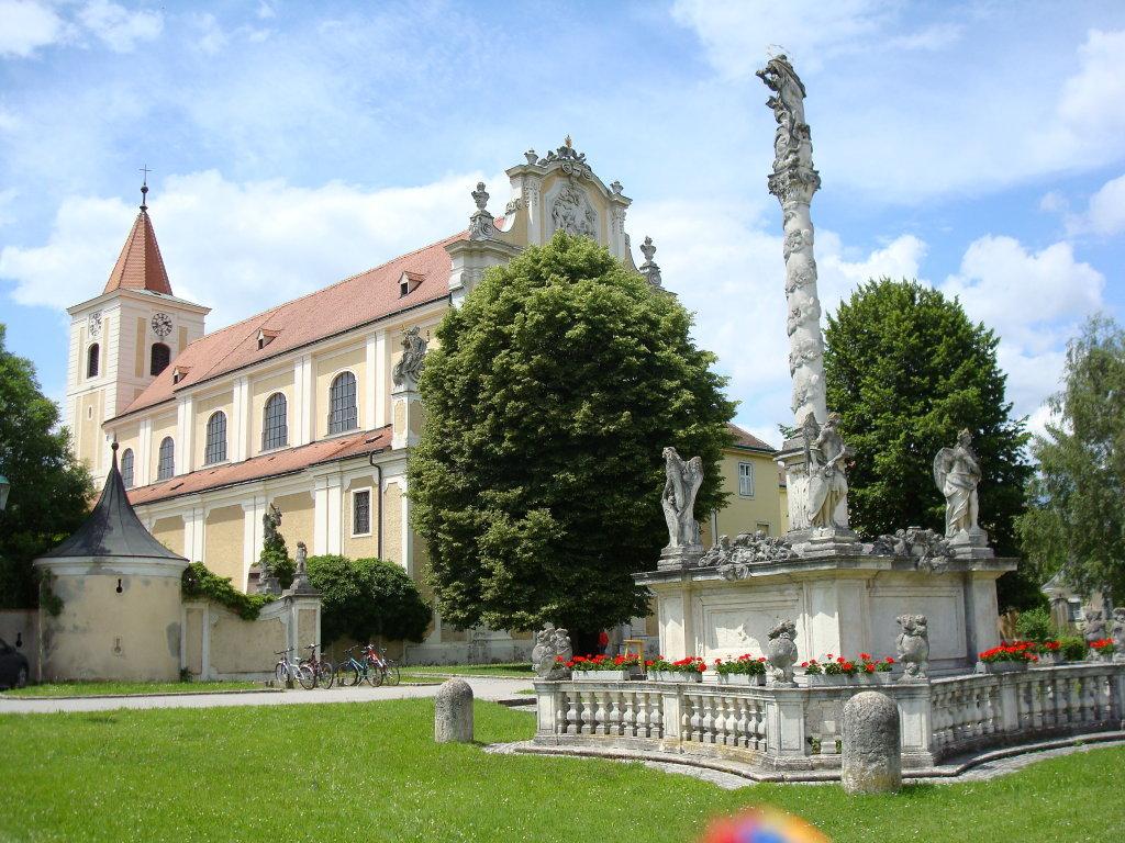 Stiftskirche St. Andrä an der Traisen - St. Andrä an der Traisen, Niederösterreich (3130-NOE)