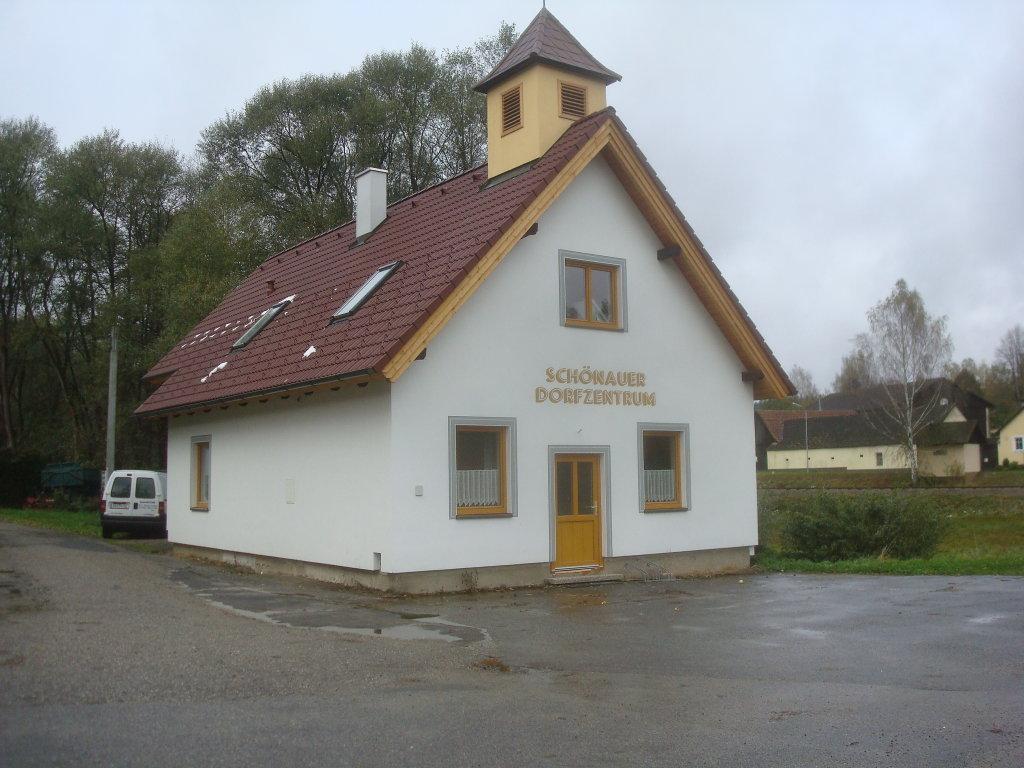 Schönauer Dorfzentrum - Schönau bei Litschau, Niederösterreich (3874-NOE)