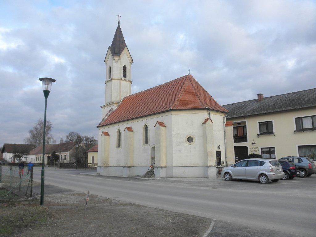 Kirche von Etzmannsdorf - Etzmannsdorf am Kamp, Niederösterreich (3573-NOE)