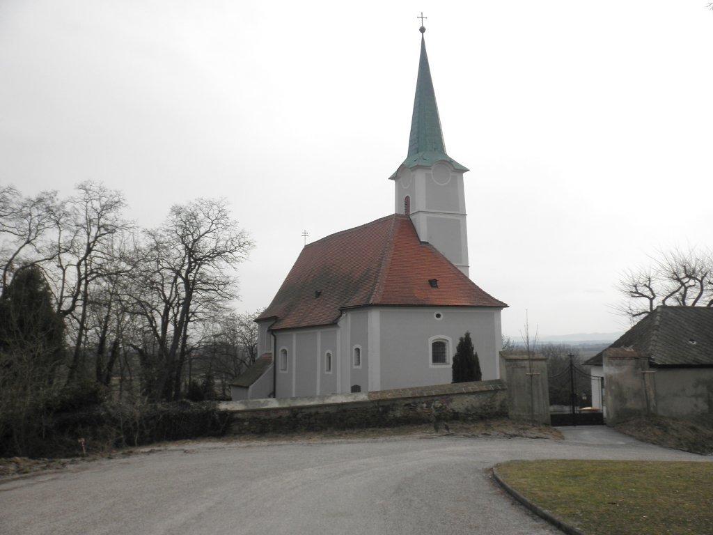 Kirche in Haunoldstein - Haunoldstein, Niederösterreich (3384-NOE)