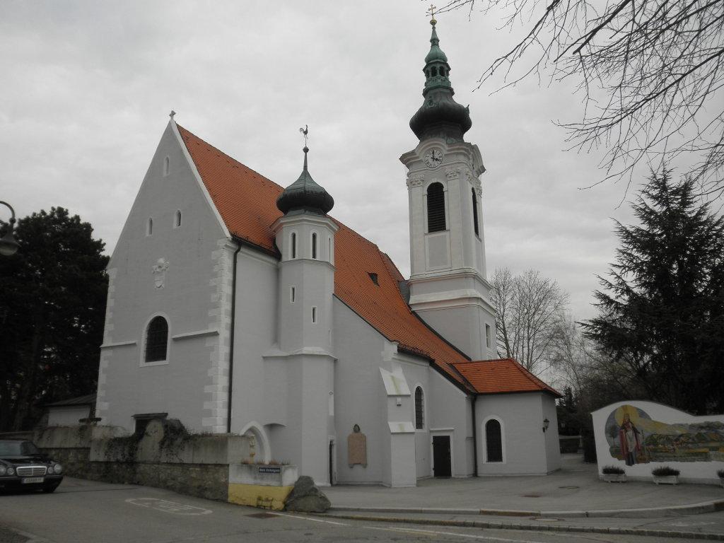 Pfarrkirche Langenzersdorf - Langenzersdorf, Niederösterreich (2103-NOE)