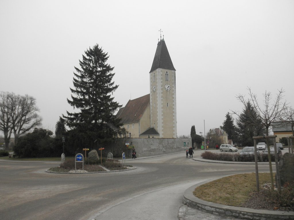 Pfarrkirche Hafnerbach - Hafnerbach, Niederösterreich (3386-NOE)
