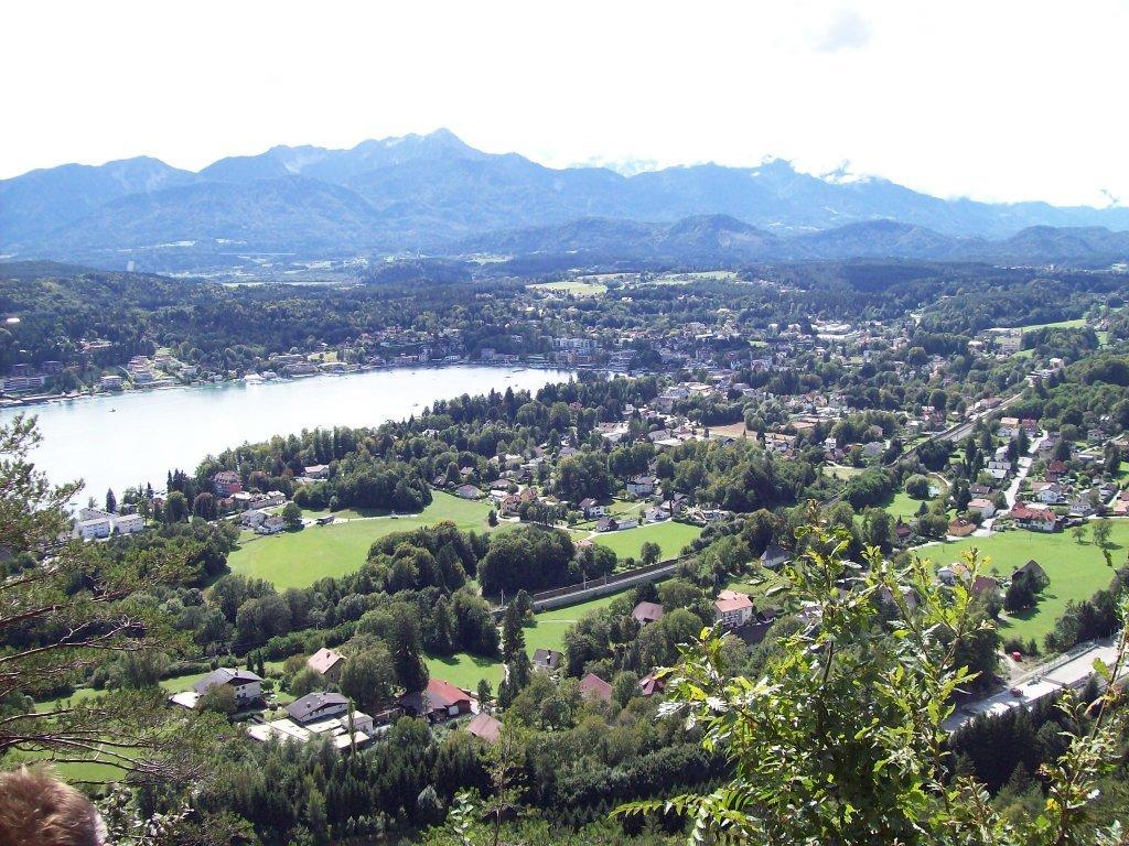Velden Wörthersee Blick v.der Aussicht - Velden am Wörther See, Kärnten (9220-KTN)