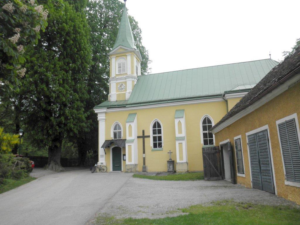 Pfarrkirche Maria Himmelfahrt, ehemalige Schlosskapelle, in Wald - Wald, Niederösterreich (3144-NOE)