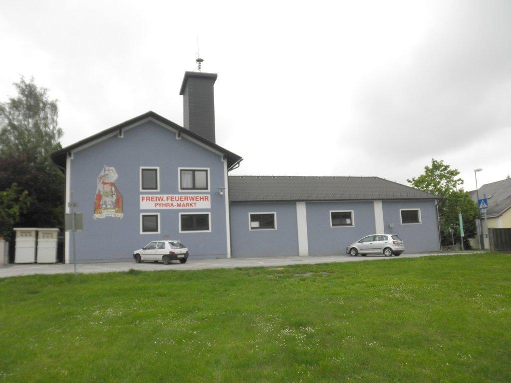 Feuerwehrhaus in Pyhra - Pyhra, Niederösterreich (3143-NOE)