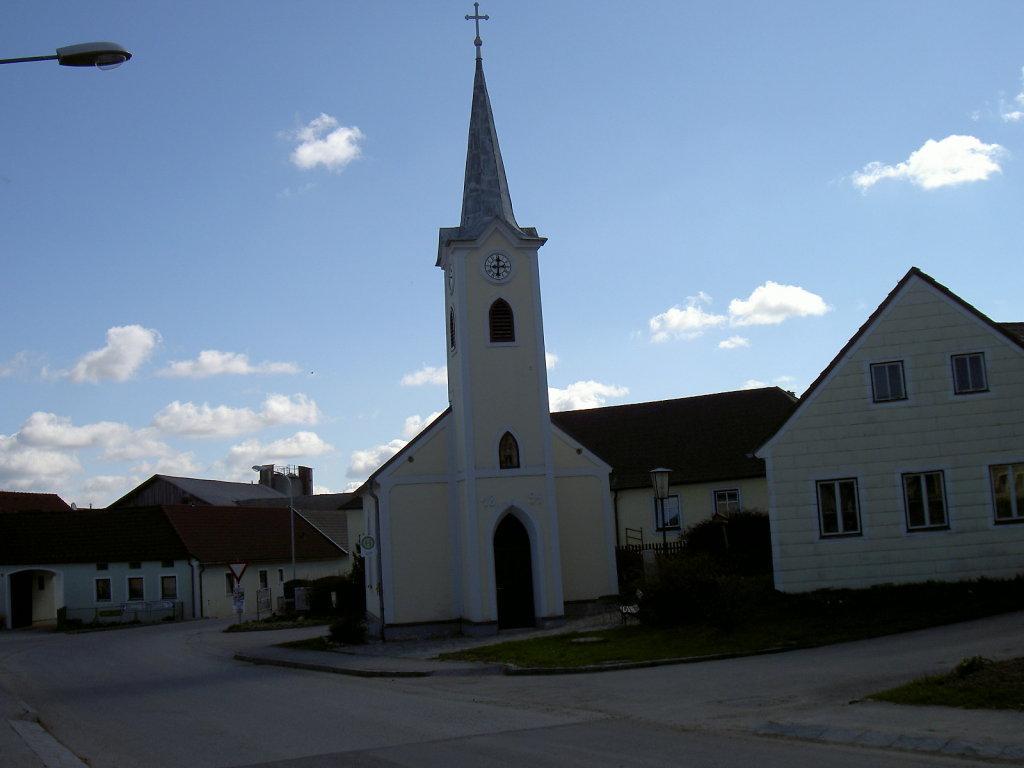 das Zentrum von Haimschlag im April 2008 - Haimschlag, Niederösterreich (3903-NOE)