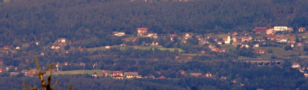 Kranzlhofen v.d.Sprungschanze aus gesehen - Kranzlhofen, Kärnten (9220-KTN)
