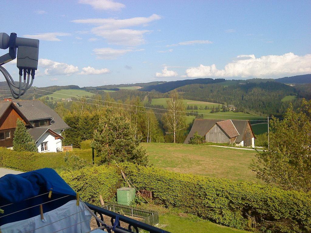 Falkenstein vom Balkon - Falkenstein, Steiermark (8654-STM)
