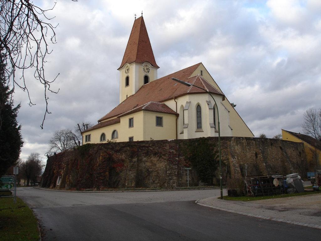 Fels, Kirche - Fels am Wagram, Niederösterreich (3481-NOE)