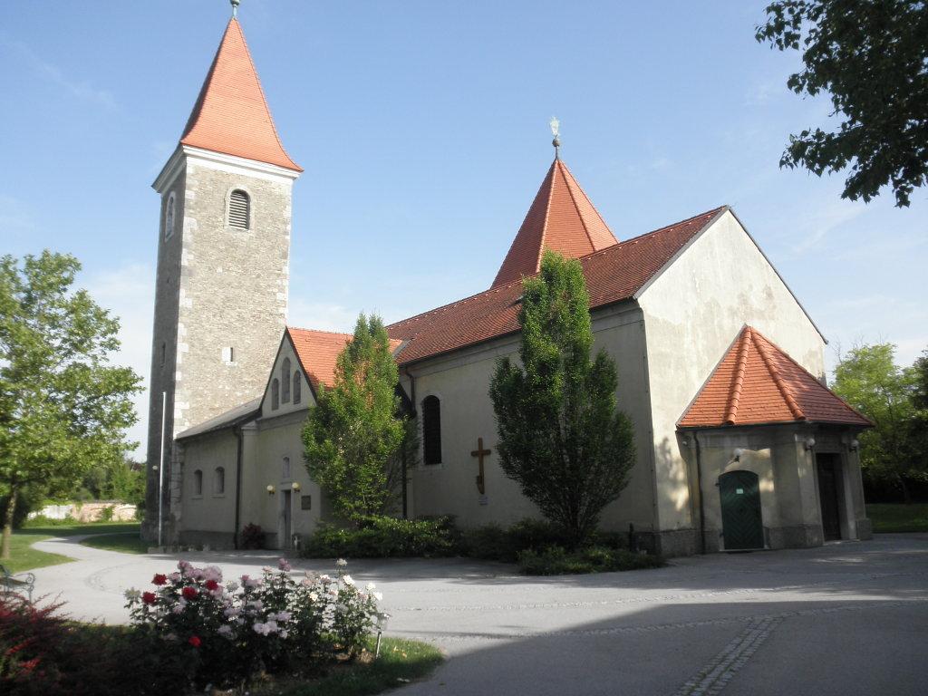 Pfarrkirche von Mannswörth - Mannswörth, Niederösterreich (1300-NOE)