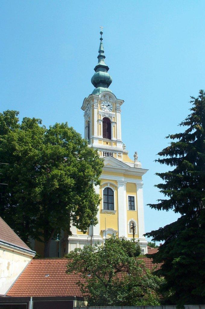 Stadtpfarrkirche zum Hl. Johannes d.T. - Groß-Siegharts, Niederösterreich (3812-NOE)