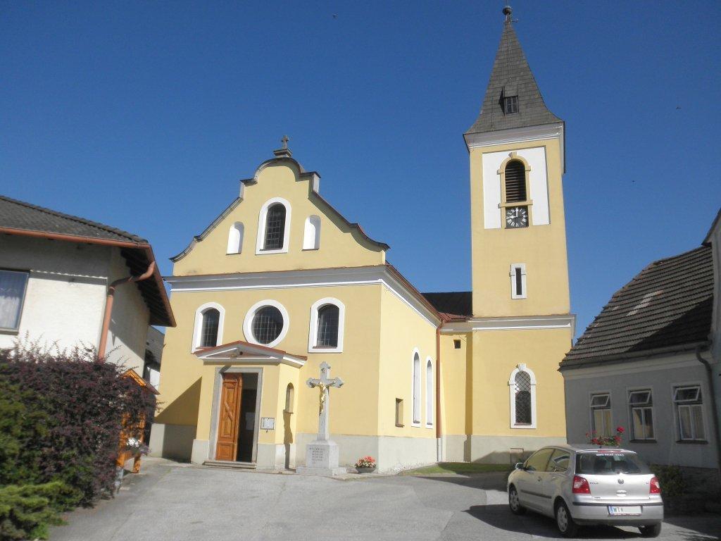 Pfarrkirche in Süßenbach - Süßenbach, Niederösterreich (3932-NOE)