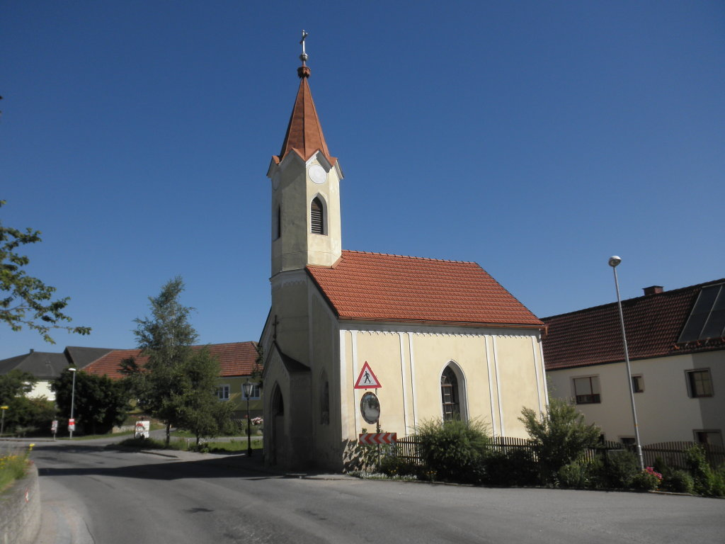 Dorfkapelle Großhaslau - Großhaslau, Niederösterreich (3910-NOE)