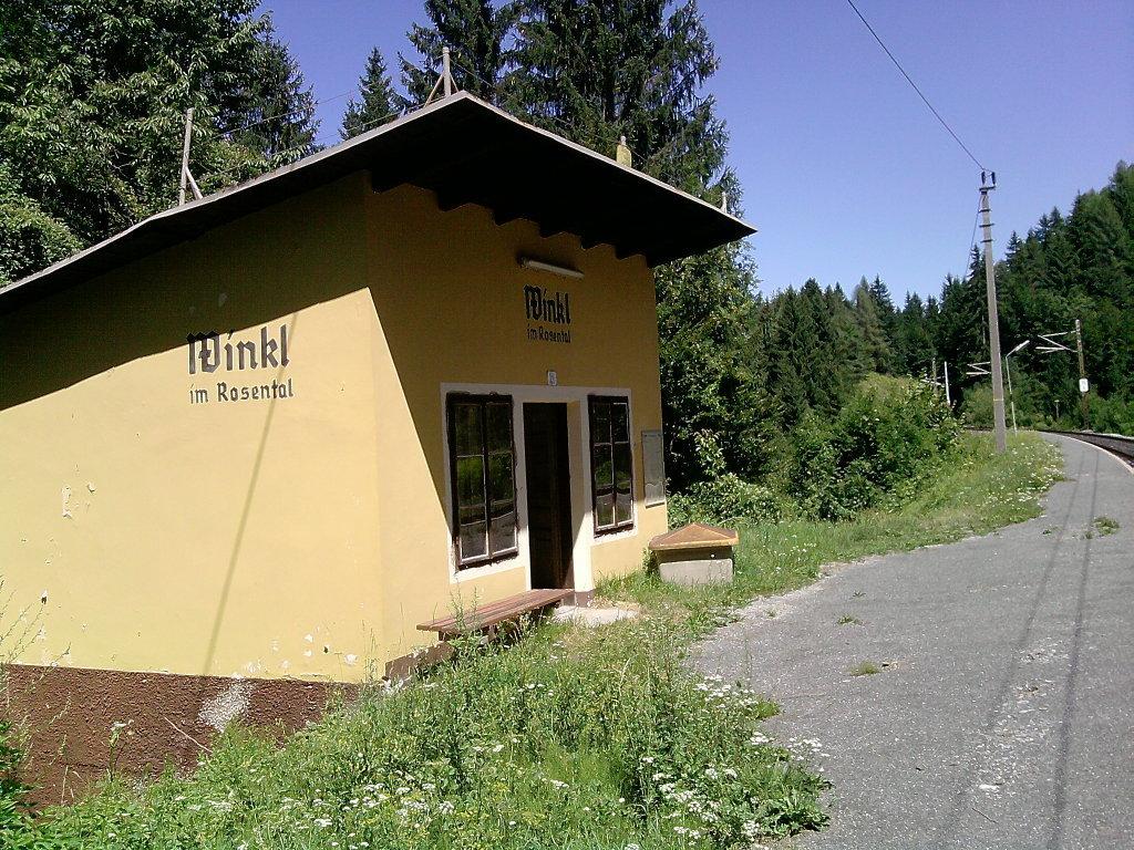 Winkler Bahnhof - Winkl, Kärnten (9184-KTN)