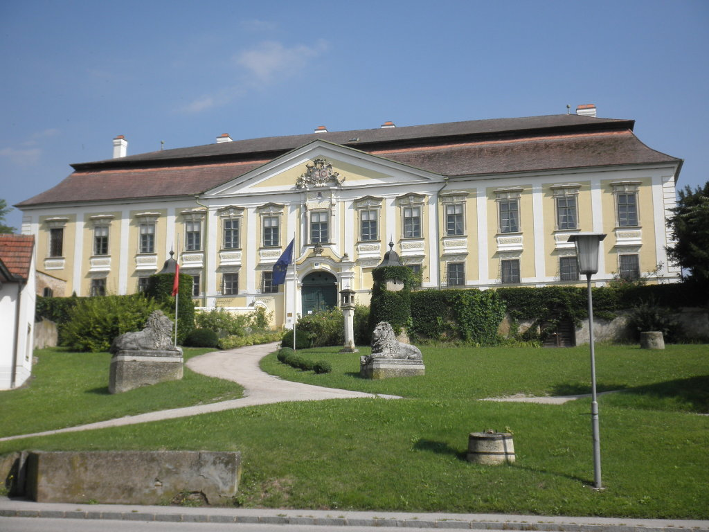 Schloss Gobelsburg - Gobelsburg, Niederösterreich (3550-NOE)