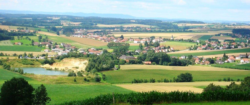 Prambachkirchen von Sallmannsberg - Prambachkirchen, Oberösterreich (4731-OOE)