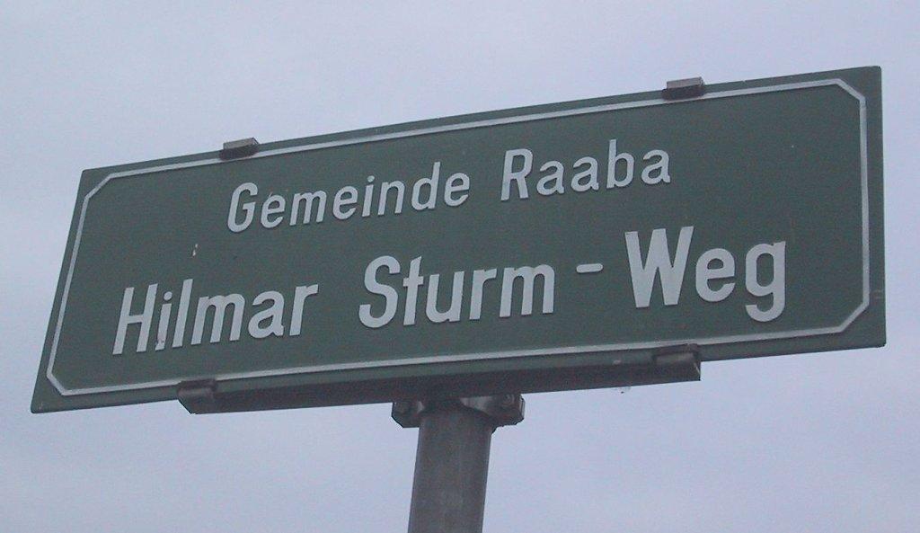 Hilmar-Sturm-Weg - Hilmar-Sturm-Weg, Steiermark (8074-STM)