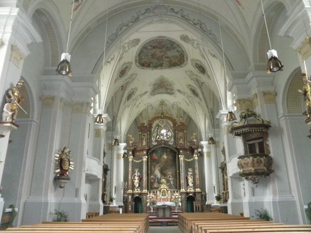 Innenraum der Pfarrkirche Rauris - Rauris, Salzburg (5661-SBG)