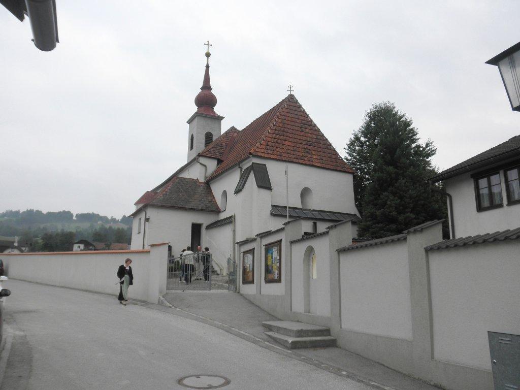 Pfarrkirche Schwarzenbach - Schwarzenbach an der Gölsen, Niederösterreich (3150-NOE)