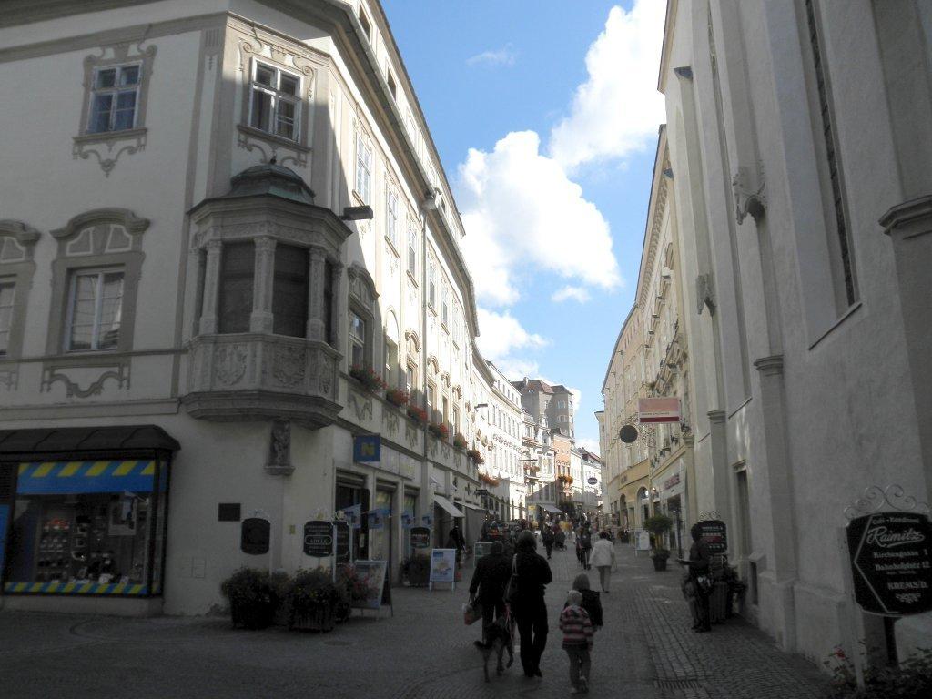 """Blick """"Untere Landstraße"""" in Krems an der Donau - Krems an der Donau, Niederösterreich (3500-NOE)"""