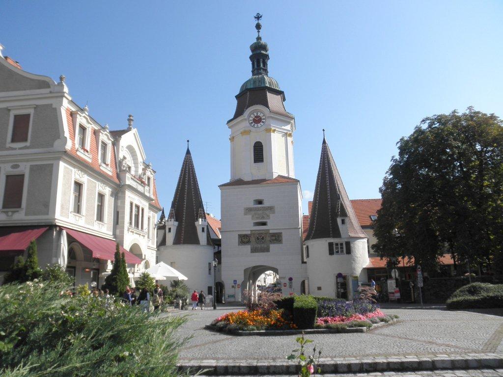 """Das """"Steiner Tor"""" in Krems an der Donau - Krems an der Donau, Niederösterreich (3500-NOE)"""