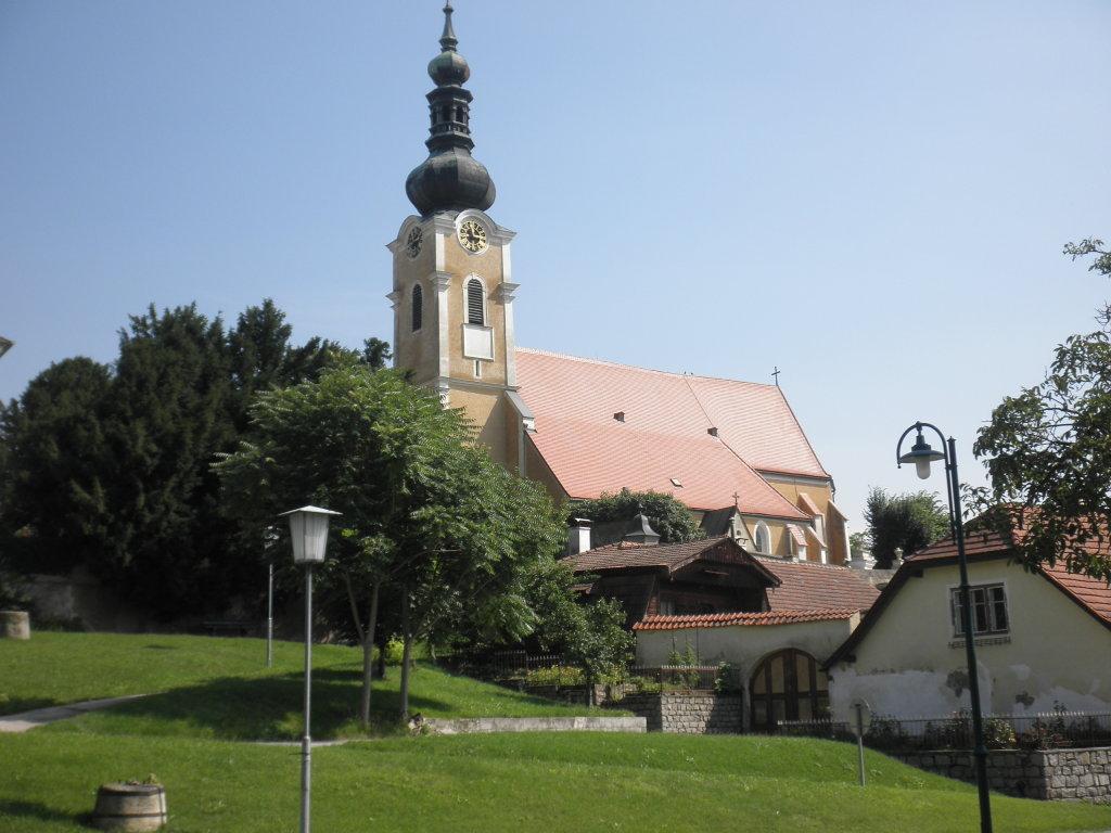 Pfarrkirche Gobelsburg - Gobelsburg, Niederösterreich (3550-NOE)