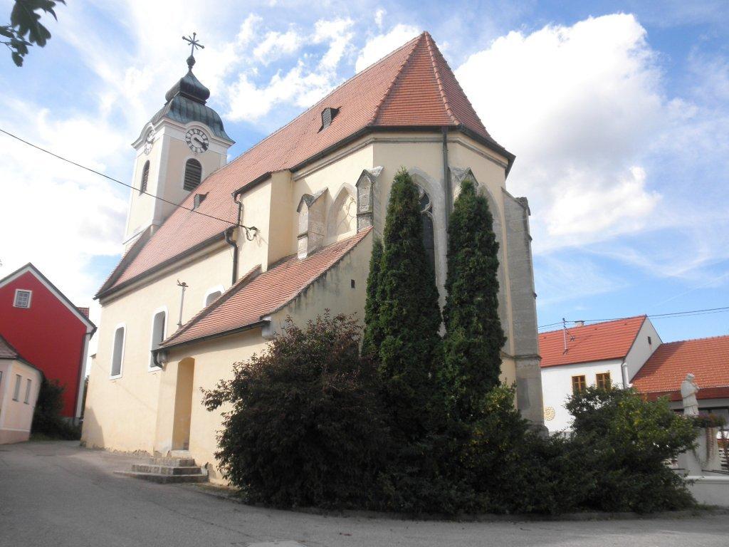 Pfarrkirche Mittelberg - Mittelberg, Niederösterreich (3550-NOE)