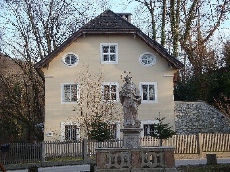 Das Pfarhaus steht immer noch, wie zu meiner Kindheit. 1955-1960 - St. Jakob am Thurn, Salzburg (5412-SBG)