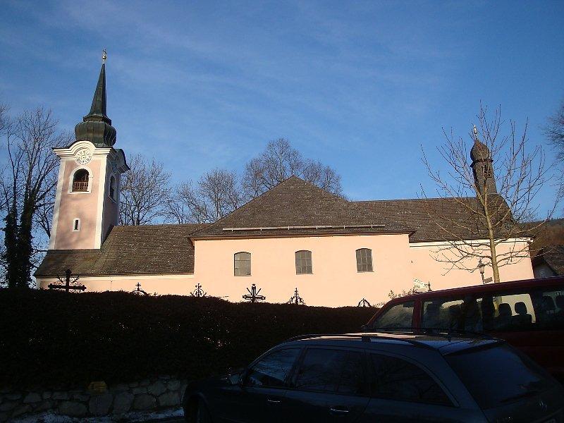 Kirche von St.Jakob, aufgenommen am 18.Jan.2011 - St. Jakob am Thurn, Salzburg (5412-SBG)