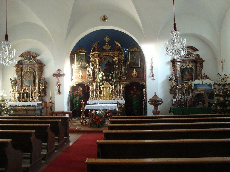 Faszinierend für mich, wie nach all den Jahren sich dieser Altar kaum verändert hat, in all seiner Pracht! - St. Jakob am Thurn, Salzburg (5412-SBG)