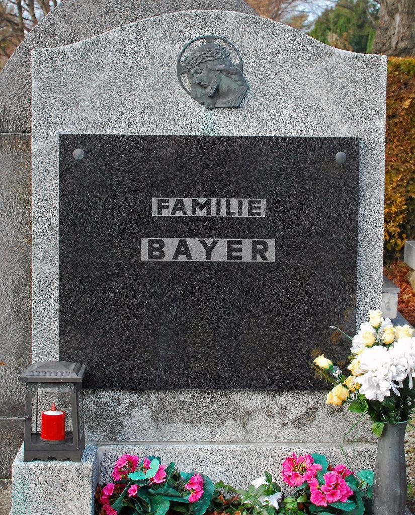 Hernalser Friedhof, Grab des Schriftstellers Konrad Bayer. - Hernalser Friedhof, Wien (1170-W)