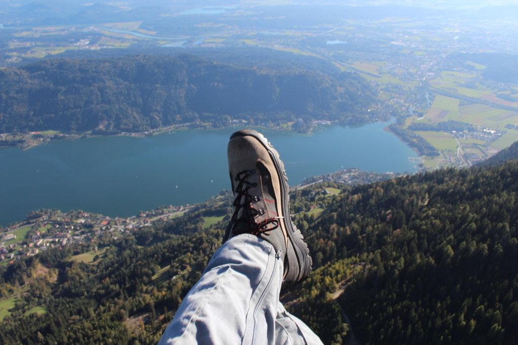 Schwerelos relaxen über Annenheim. Wunderschöner Flug von der Gerlitzen am 1.10.2011 - Annenheim, Kärnten (9520-KTN)