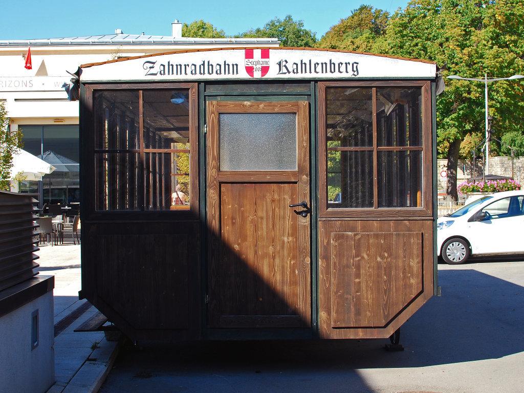 Ehemalige Zahnradbahn am Kahlenberg - Am Kahlenberg, Wien (1190-W)