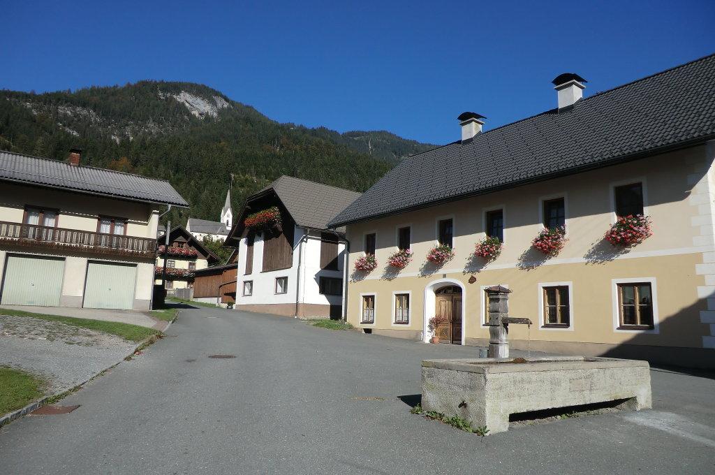 Dorfbrunnen - St. Lorenzen im Gitschtal, Kärnten (9620-KTN)