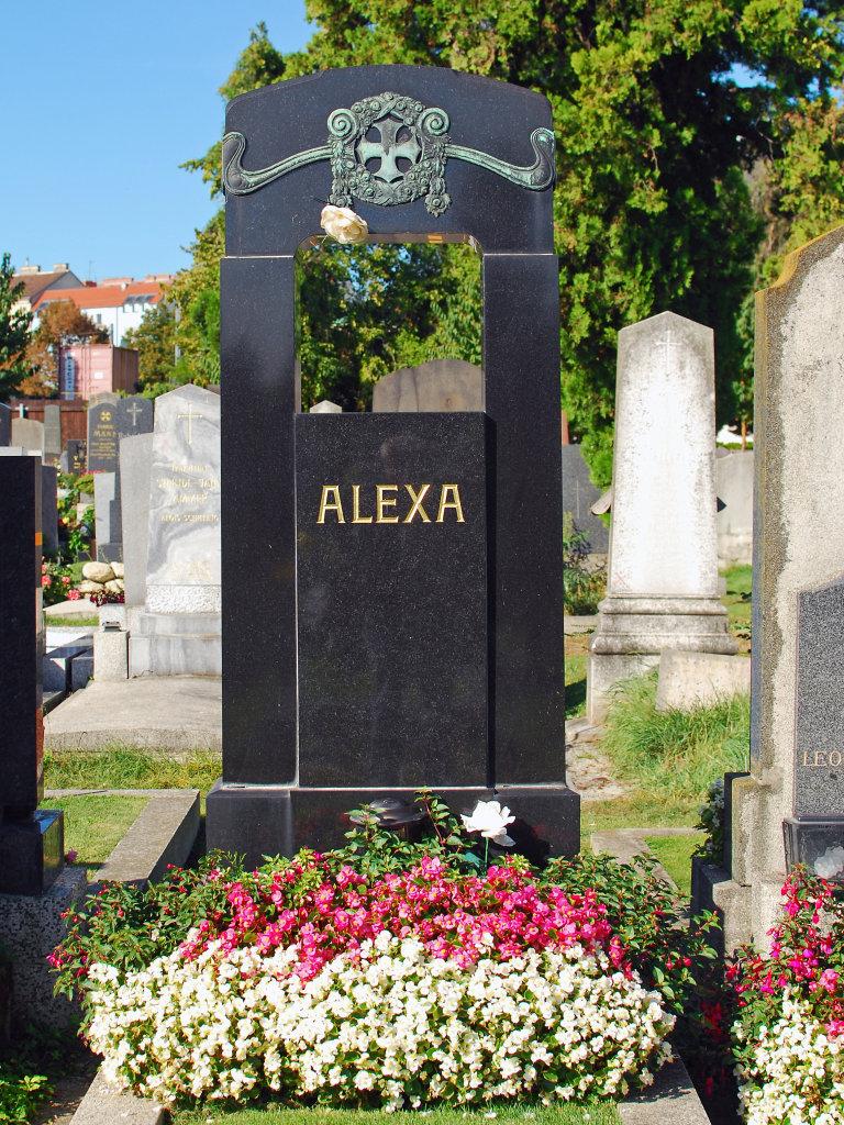 Grab, Friedhof Meidling, 1120 Wien - Friedhofweg Meidling, Wien (1120-W)