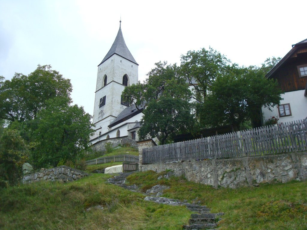 Pfarrkirche Pürgg - Pürgg, Steiermark (8951-STM)