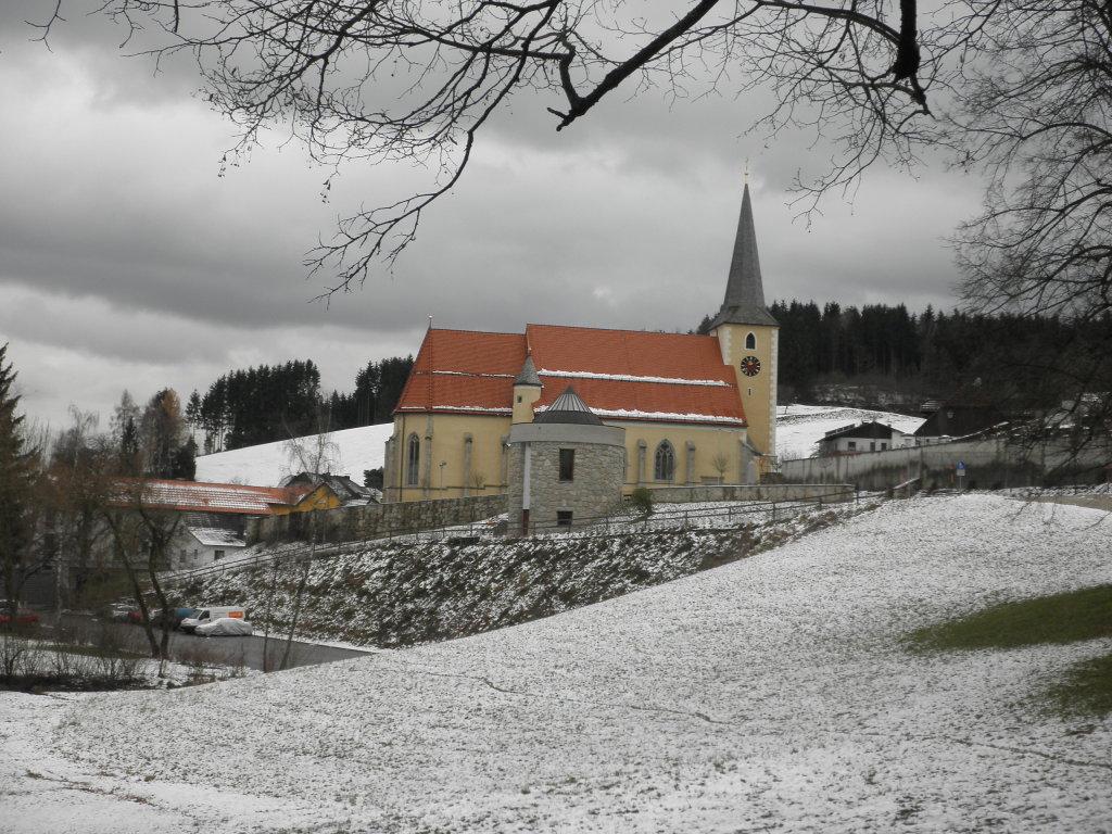 Pfarrkirche Waldhausen im Strudengau - Waldhausen im Strudengau, Oberösterreich (4391-OOE)