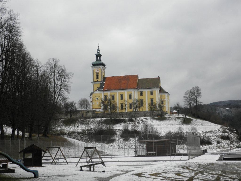 Stiftskirche Waldhausen am Schloßberg - Schloßberg, Oberösterreich (4391-OOE)