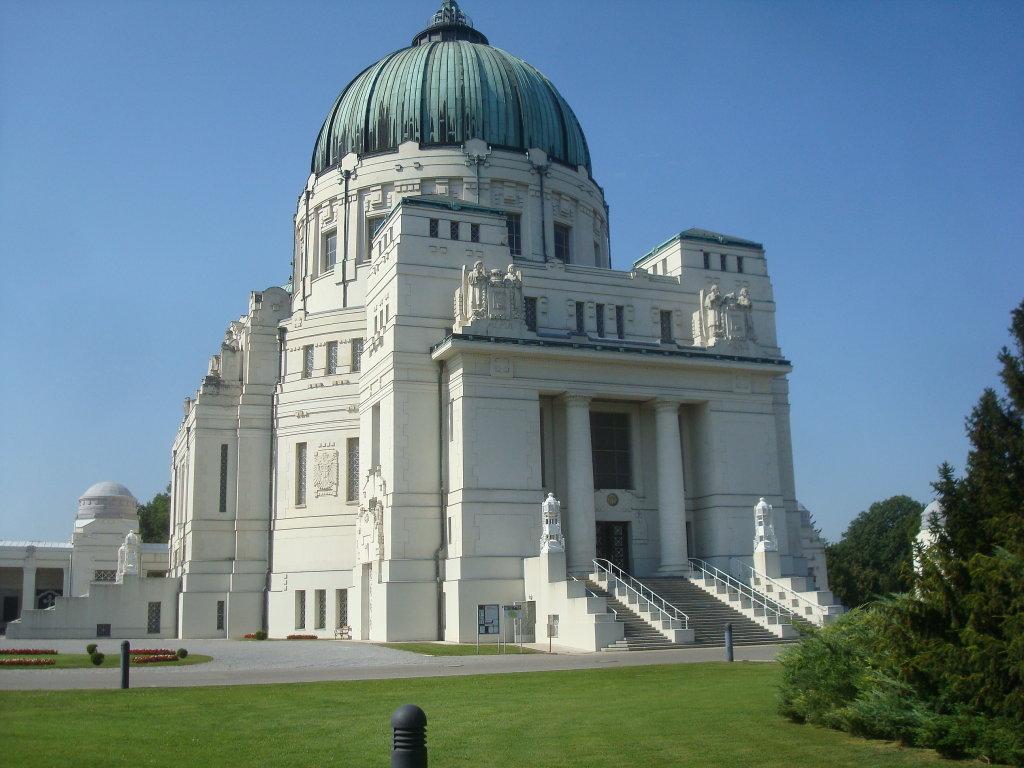 Karl-Borromäus-Kirche auf dem Wiener Zentralfriedhof - Wien Stadt (1010-W)
