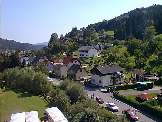 Blick auf die südliche Josef Rollsiedlung - Piberegg Rollsiedlung, Steiermark (8572-STM)