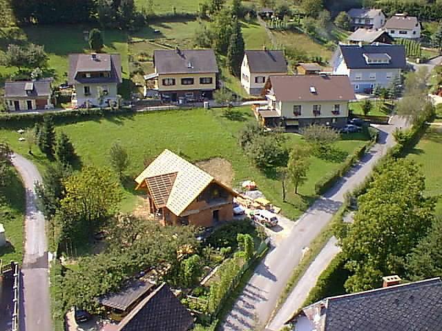 Blick Richtung Westwen - Piberegg Rollsiedlung, Steiermark (8572-STM)