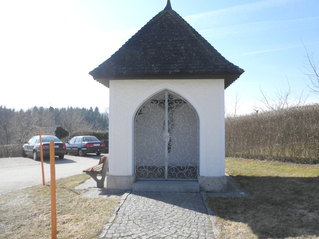 kleine Kapelle in Leopoldshofstatt - Leopoldshofstatt, Oberösterreich (4906-OOE)