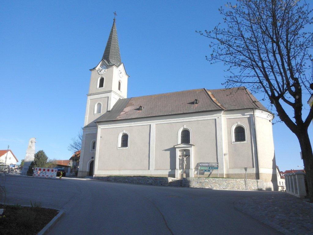 Pfarrkirche von Weinzierl am Walde - Weinzierl am Walde, Niederösterreich (3610-NOE)