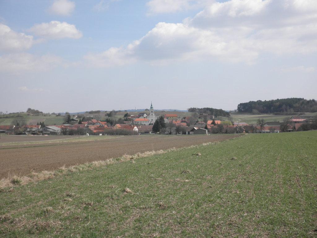 Fernblick nach Tautendorf - Tautendorf, Niederösterreich (3571-NOE)