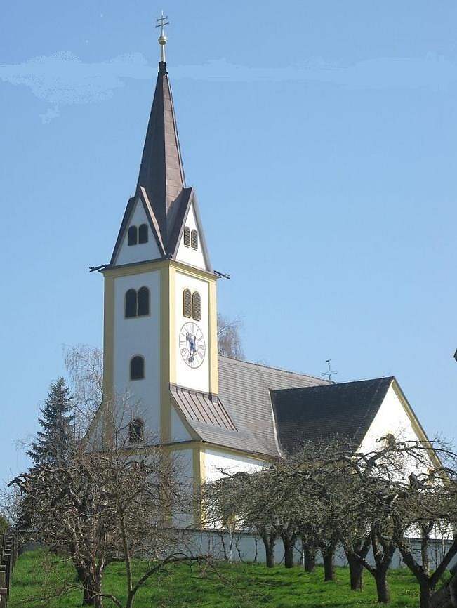 Filialkirche Sankt Oswald in Gnies Steiermark - Gnies, Steiermark (8262-STM)