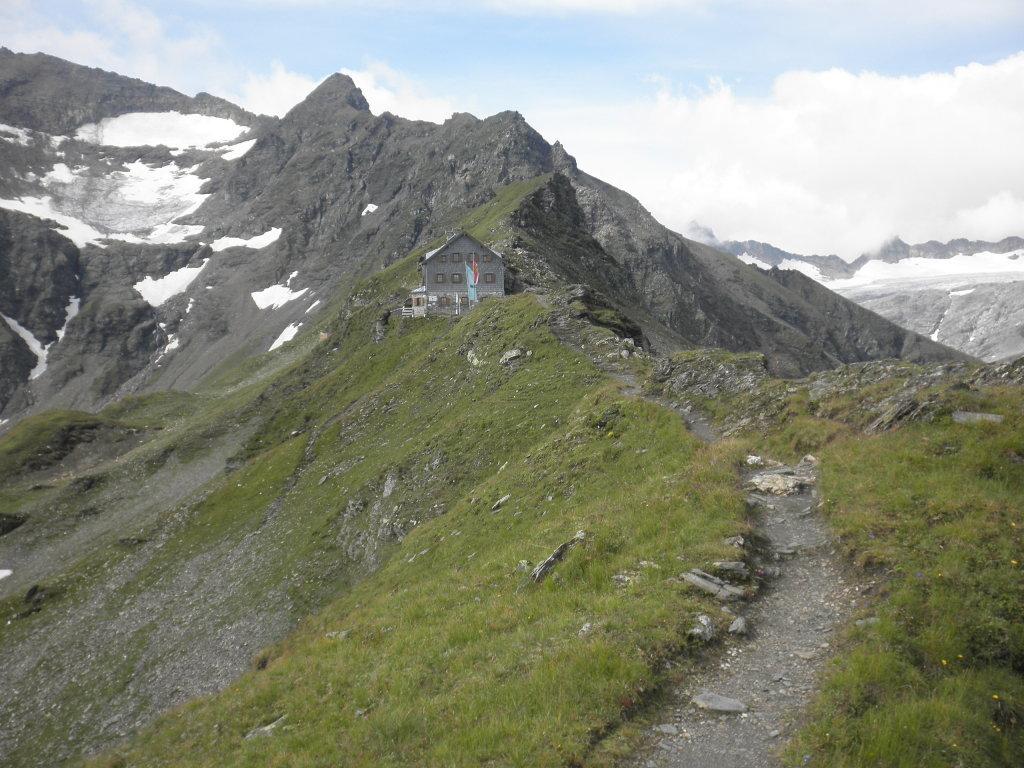 Blick zur Niedersachsenhütte - Bad Gastein, Salzburg (5640-SBG)